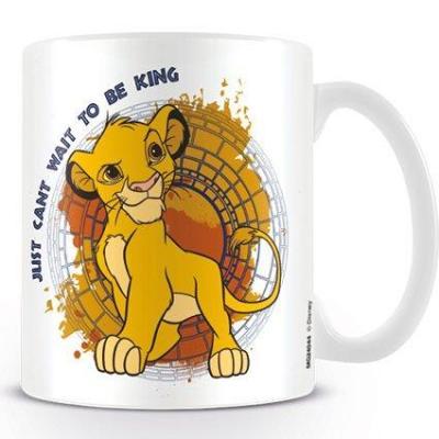 Disney mug 300 ml lion king just can t wait to be king