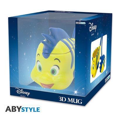 Disney mug 3d 230 ml polochon la petite sirene