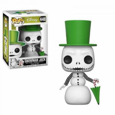 Disney nbx bobble head pop n 448 snowman jack