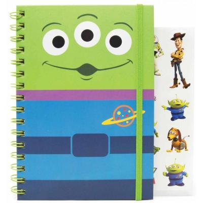 Disney notebook a5 with stickers toy story alien