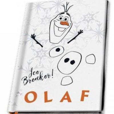 Disney olaf notebook a5