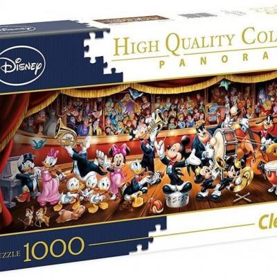 Disney orchestra panorama puzzle 1000p