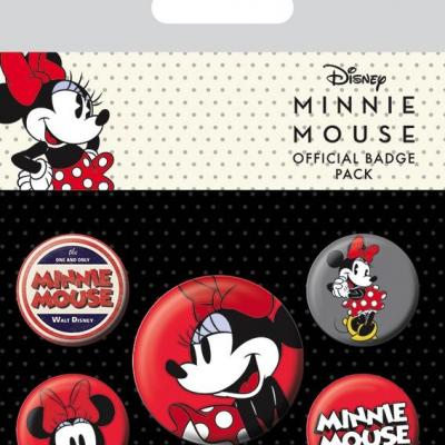 Disney pack 5 badges minnie mouse 2