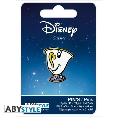 Disney pin s la belle et la bete zip