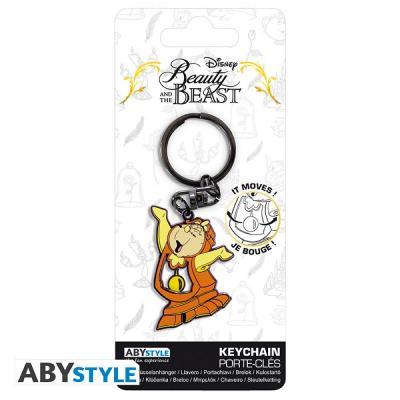 Disney porte cles mecanique big ben cogsworth la belle et la bete 3665361045144 5