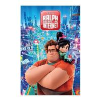 Disney poster 61x91 ralph breaks the internet 1