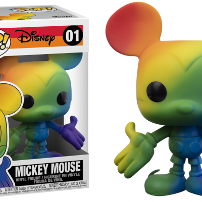Disney pride bobble head pop n 01 mickey mouse