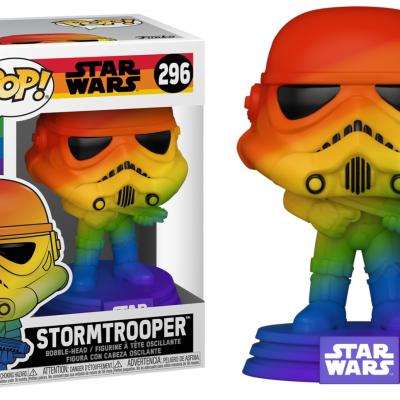 Disney pride bobble head pop n 296 stormtrooper