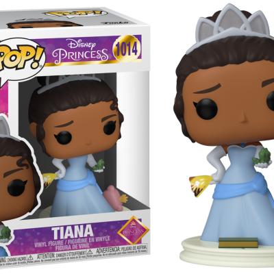 Disney princess bobble head pop n 1014 ultimate princess tiana