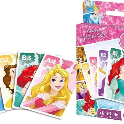 Disney princess jeu de cartes 4 en 1