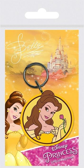 Disney princess porte cles caoutchouc belle
