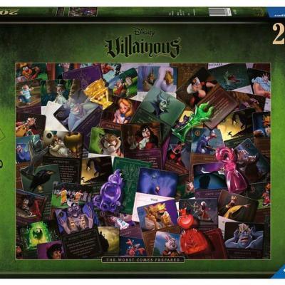 Disney puzzle 2000p all vilains