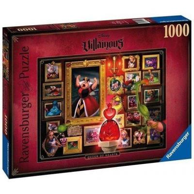 Disney puzzle villainous 1000p queen of hearts