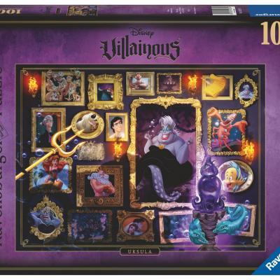 Disney puzzle villainous 1000p ursula