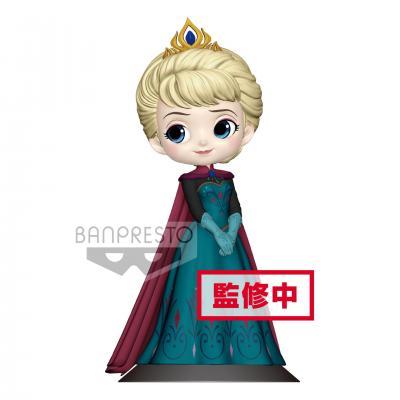 Disney q posket elsa coronation normal color version 14cm r