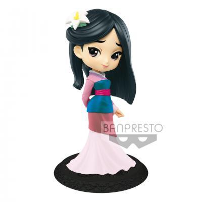 Disney q posket mulan pastel color version 14cm