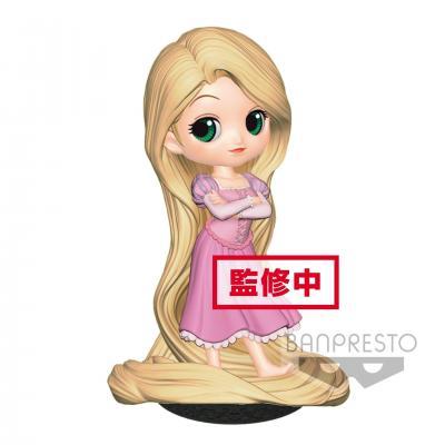 Disney q posket rapunzel girlish charm pastel color version 14cm