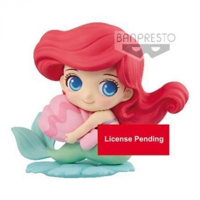 Disney q posket sweetiny ariel milky color version 8cm