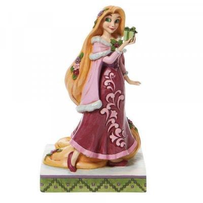 Disney rapunzel with gifts statuette enesco 18 5x9cm