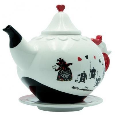 Disney reine de coeur theiere en ceramique 1