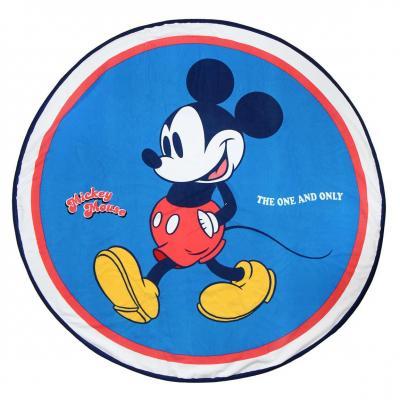 Disney serviette de bain rond 130cm mickey