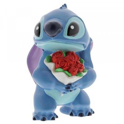 Disney showcase collection figurine stitch flowers 9cm