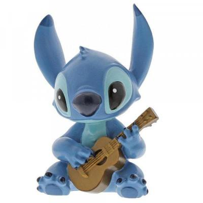 Disney showcase collection stitch guitar figurine 9cm