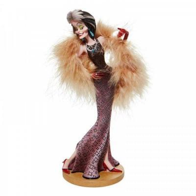 Disney showcase cruella couture de force statuette enesco 20cm