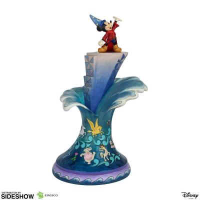 Disney sorcerer mickey masterpiece statuette 46x29x24cm