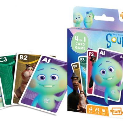 Disney soul jeu de cartes 4 en 1