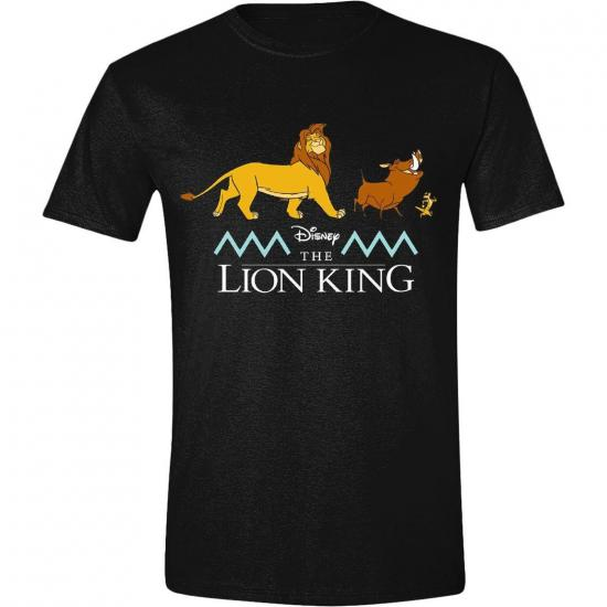 Disney t shirt le roi lion logo and characters