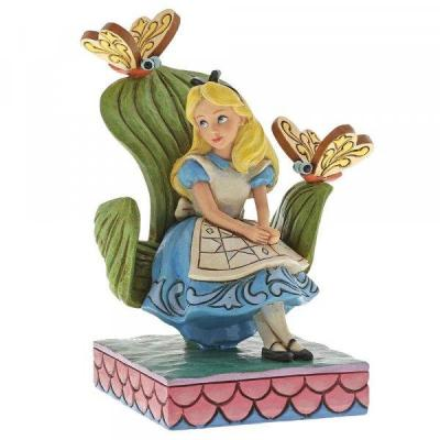 Disney traditions alice curiouser and curiouser 14cm