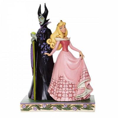 Disney traditions aurora and maleficent 23x9x15 5cm