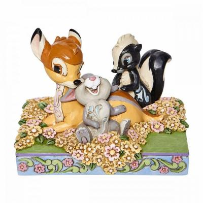 Disney traditions bambi and friends 10x8 5x12 5cm