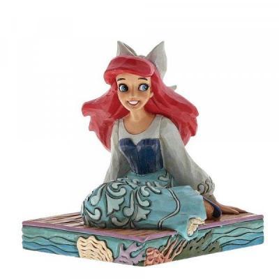 Disney traditions be bold ariel figurine 9cm