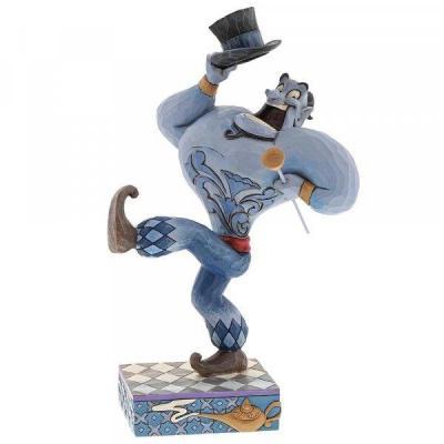 Disney traditions genie aladdin born showman 21x11x13