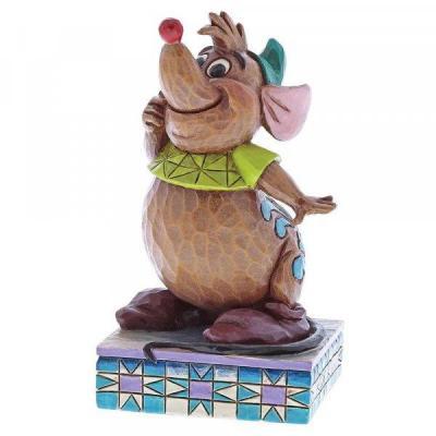 Disney traditions gus cinderella friend figurine 10cm