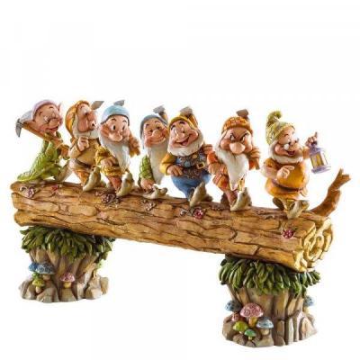 Disney traditions homeware bound seven dwarfs figure 33cm