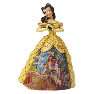 Disney traditions la belle et la bete belle 16cm