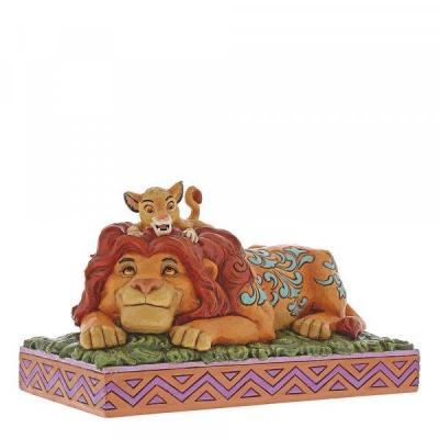 Disney traditions lion king simba mufasa figurine 19 5cm