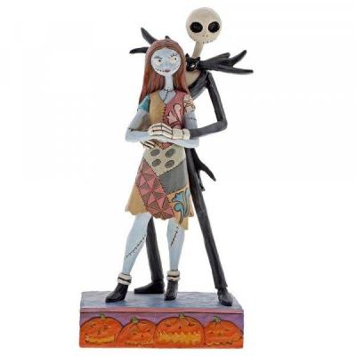 Disney traditions nbx jack sally figurine 22cm