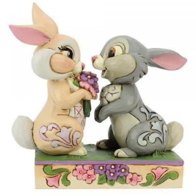Disney traditions panpan la lapine bunny bouquet 10x5x10