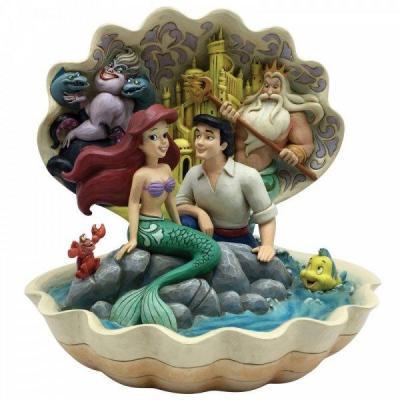 Disney traditions seashell scenario 20 5x17 5x18 5