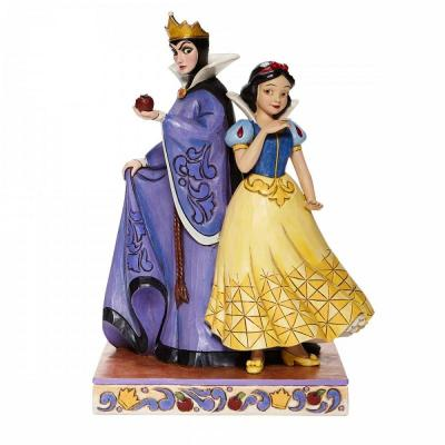 Disney traditions snow white and evil queen 21x11 5x14 5cm