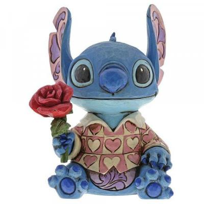 Disney traditions stitch clueless casanova figurine 15 5cm