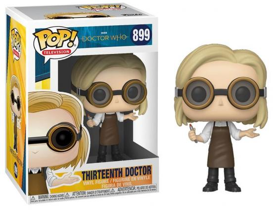 Doctor who bobble head pop n 899 13th doctor with goggles