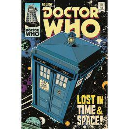 Doctor who poster 61x91 lost in time space
