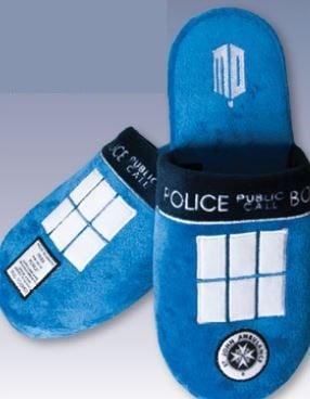 Doctor who tardis pantoufles t38 41