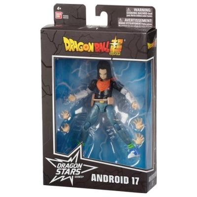 Dragon ball android 17 figurine dragon stars 17cm serie 10