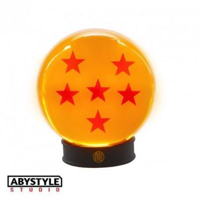 Dragon ball boule de cristal 6 etoiles 75 mm socle 1